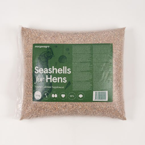 MORGAN AGRO Seashells 20kg retail pack