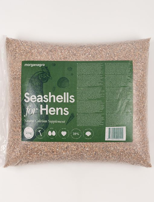 MORGAN AGRO Seashells 20kg retail pack
