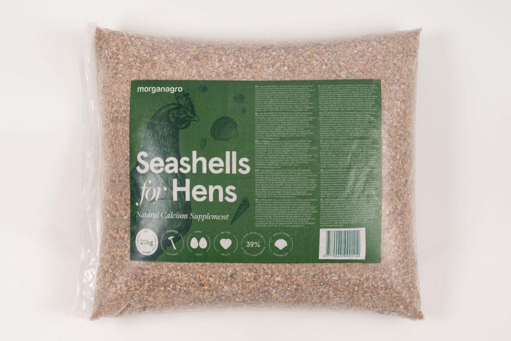 Seashells for Stronger egg shells